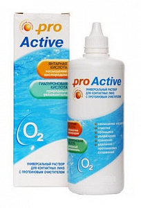 Раствор для линз Optimed Pro Active